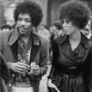 Jimi Hendrix and Devon Wilson