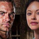 Dustin Clare and Marisa Ramirez in Spartacus: Gods of the Arena (2011)