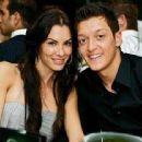 Mesut Özil and Anna Maria Lagerblom