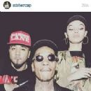 Wiz Khalifa and Indya Marie