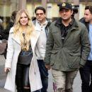Avril Lavigne and Phillip Sarofim – Leaving SiriusXM Radio in New York City - 454 x 681