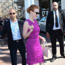 Jessica Chastain at Martinez Hotel in Cannes