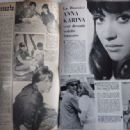 Anna Karina - Festival Magazine Pictorial [France] (14 November 1961) - 454 x 333