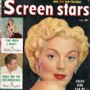 Lana Turner - Screen Stars Magazine Cover [United States] (February 1950)
