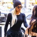 Kim and Khloe Kardashian – Visit Cryohealthcare medical center in Los Angeles
