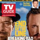 Bryan Cranston, Aaron Paul, Breaking Bad - TV Guide Magazine Cover [United States] (29 July 2013)