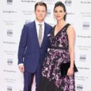 Ben McKenzie and Morena Baccarin- IFP's 26th Annual Gotham Independent Film Awards - Red Carpet - 399 x 600