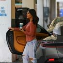 Kourtney Kardashian at Alfred's Coffee in West Hollywood
