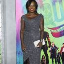 Viola Davis at 'Suicide Squad' Premiere in New York 08/01/2016