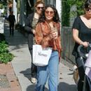 Vanessa Hudgens was spotted out shopping with a friend in West Hollywood, California on May 20, 2016