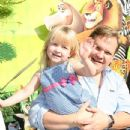 October 26, 2008 - Westwood, CA. Andy Richter and daughter Mercy . DreamWorks' Presents The Los Angeles Premiere of MADAGASCAR: ESCAPE 2 AFRICA held at the Mann Village Theater. Photo by Alex Berliner©Berliner Studio/BEImages - 433 x 650