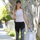 Stacy Keibler is spotted out shopping in West Hollywood, California on March 27, 2017