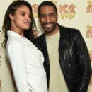 Daniela Braga and boyfriend Ryan Leslie attend The Nice Guys screening on May 12, 2016 in New York