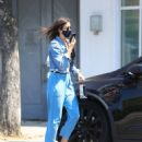 Jessica Alba – In denim jacket out in Los Angeles - 454 x 578