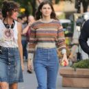 Alexandra Daddario – Filming 'Can You Keep A Secret' in New York - 454 x 681
