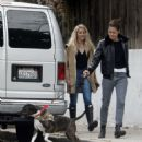 Amber Heard and Bianca Butti – Takes a break from isolation to walk in LA