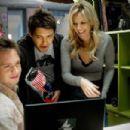 Patrick J. Adams, Ryan Devlin and Tricia O'Kelley in Weather Girl.