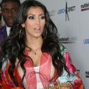 Kim Kardashian - Jul 17 2008 - 2 Annual Celebrity Bowling Night In Hollywood