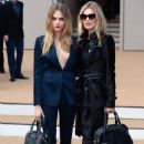 Cara Delevingne Burberry Prorsum Show Ss 2015 London Fashion Week