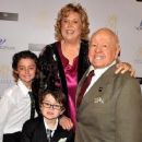 Mickey Rooney & Grandkids celebrate his 90th!