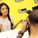 Rocsi Diaz visits Browne Education Campus during the Get Schooled Victory Tour on February 19, 2013 in Washington, DC