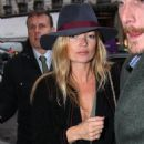 Kate Moss shopping at Din Vahn jewlers in Paris, France, January 25, 2011