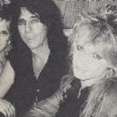 Alice and Sheryl Cooper with Michael Monroe