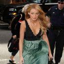 """Blake Lively - Aug 04 2008 - Arriving At MTV Studios For MTV's """"TRL"""" In New York City"""