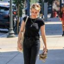 Emma Roberts – Out for lunch in West Hollywood