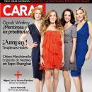 Kim Cattrall, Kristin Davis, Cynthia Nixon, Sarah Jessica Parker, Sex and the City 2 - Caras Magazine Cover [Peru] (7 May 2010)