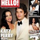 Katy Perry, John Mayer - Hello! Magazine Cover [United Arab Emirates] (28 November 2013)