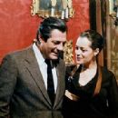 Romy Schneider and Marcello Mastroianni