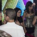 Ashley Greene celebrating her birthday at Byblos in Milan, Italy (February 24)
