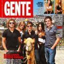 Nicolas Riera, Mariana Esposito, Peter Lanzani, Gaston Dalmau - Gente Magazine Cover [Argentina] (22 March 2011)