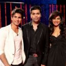 Karan Johar, Shahid Kapoor & Priyanka Chopra - Koffee with Karan! Luv this TV show