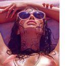 Irina Shayk For Linda Farrow Spring 2015 Sunglasses Campaign