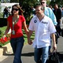 Jacques Villeneuve and Johanna Martinez