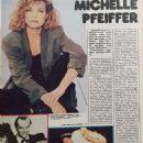 Michelle Pfeiffer - Ekran Magazine Pictorial [Poland] (7 December 1989)