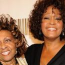 Whitney Houston with her mother