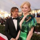 Keith Urban and Nicole Kidman : 23rd Annual Screen Actors Guild Awards - 454 x 592