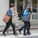 Selena Gomez with girlfriends in Beverly Hills, Ca January 24th,2013 - 454 x 394