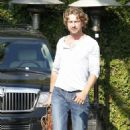 Gerard Butler: Lunchtime in Beverly Hills