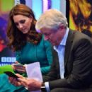 The Duke And Duchess Of Cambridge Visit The BBC - 454 x 303
