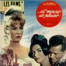 Annette Stroyberg, Mel Ferrer, Elsa Martinelli - Les films pour vous Magazine Cover [France] (20 January 1961)