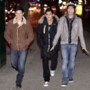 Alex Meraz, Bronson Pelletier And Kiowa Gordon Out And About In Vancouver - 454 x 444