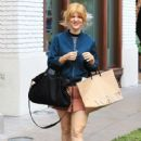 Arden Myrin was in a bubbly mood during a shopping trip to The Grove in Hollywood, California on December 12, 2016 - 426 x 600
