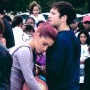 Ariana Grande and Nathan Kress