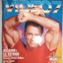 Arnold Schwarzenegger - Video 7 Magazine Cover [France] (September 1993)