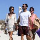 Alessandra Ambrosio and Jamie Mazur Boating While in Ibiza 7/3/2016 - 454 x 600