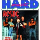 Chris Slade, Angus Young, Malcolm Young, Brian Johnson, Cliff Williams - Hard Force Magazine Cover [France] (November 1990)